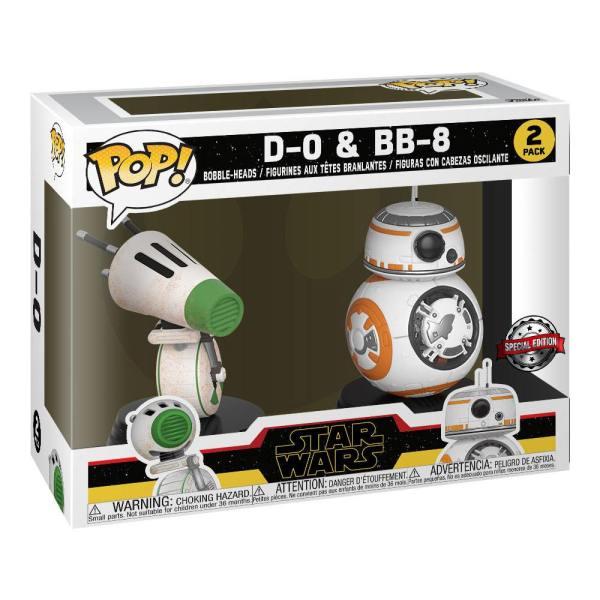 x_fk44121 Star Wars Rise of Skywalker Funko POP! Figura 2-Pack - D-O & BB-8 9 cm