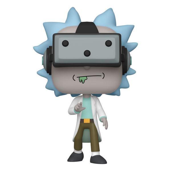 Rick & Morty Funko POP! Animation Vinyl Figura - Gamer Rick 9 cm