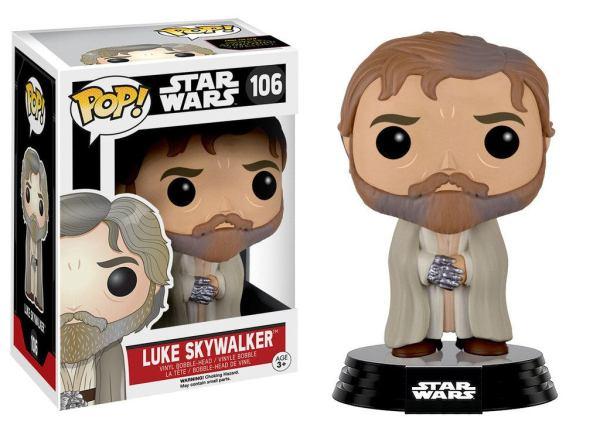 Star Wars Funko POP! Figura - Luke Skywalker (Bearded) 9 cm