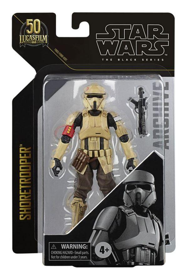 Star Wars Black Series Archive Akciófigura - 2021 50th Anniversary Wave 2 - Shoretrooper (Rogue One) - hasf09615l01_h