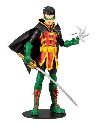 DC Multiverse Action Figure Damian Wayne: As Robin 18 cm - MCF15137-4