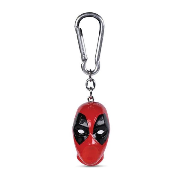 Deadpool 3D kulcstartó - Head 4 cm