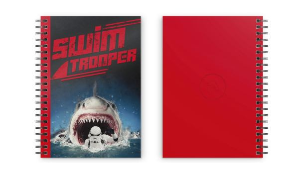 Original Stormtrooper jegyzetfüzet - Swimtrooper
