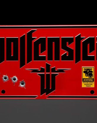 Wolfenstein Metal Sign / Fém Tábla - The New Colossus
