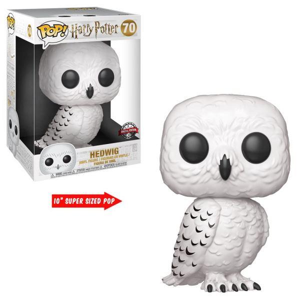 Harry Potter Super Sized Funko POP! Figura - Hedwig 25 cm