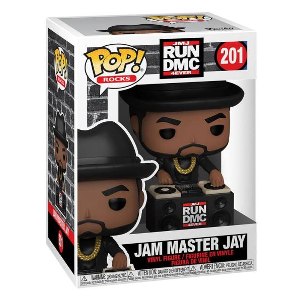 Run DMC POP! Rocks Vinyl Figure Jam Master Jay 9 cm_fk47166