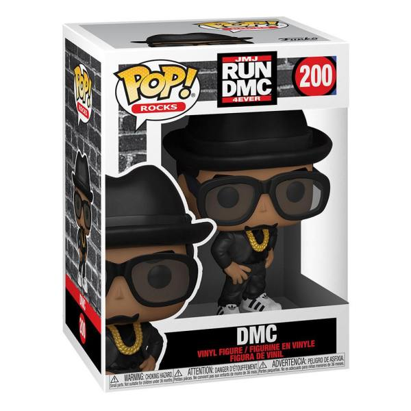 Run DMC POP! Rocks Vinyl Figure DMC 9 cm-fk47167