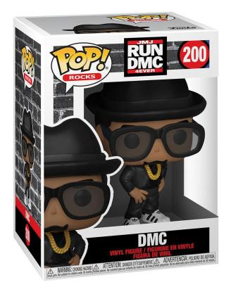Run DMC POP! Rocks Vinyl Figure DMC 9 cm-fk47167