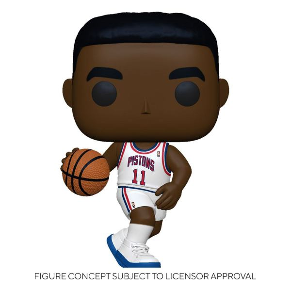 NBA Legends POP! Sports Vinyl Figure Isiah Thomas (Pistons Home) 9 cm