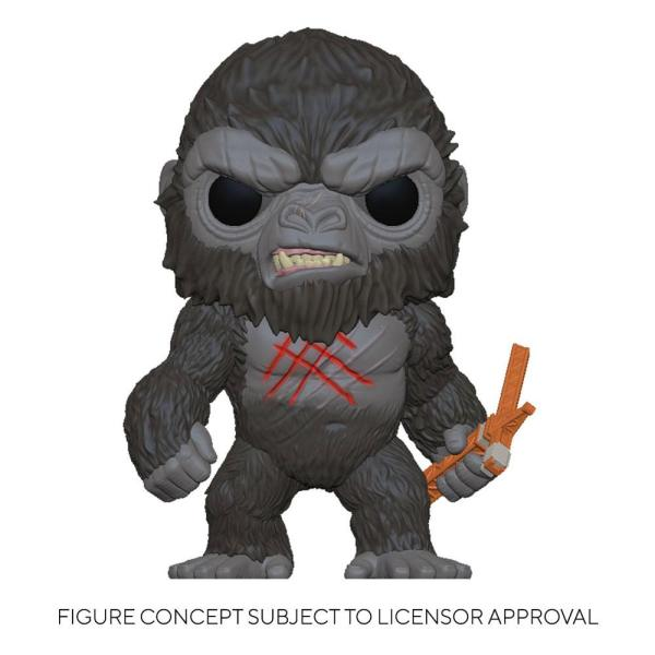 Godzilla Vs Kong POP! Movies Vinyl Figure Battle Worn Kong 9 cm-fk50954