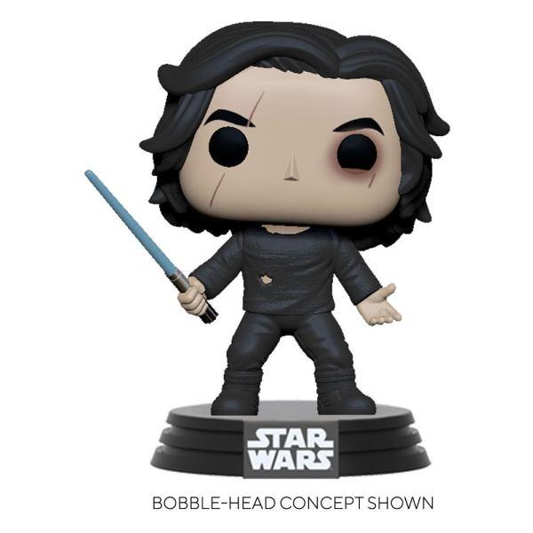Star Wars Episode IX POP! Movies Vinyl Figure Ben Solo w/Blue Saber 9 cm - fk51480