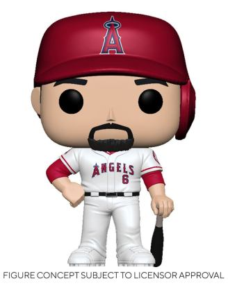 MLB POP! Sports Vinyl Figure Angels - Anthony Rendon (Home Uniform) 9 cm - fk54639