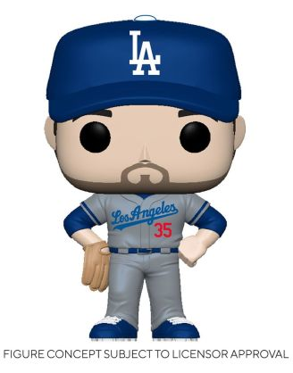 MLB POP! Sports Vinyl Figure Dodgers - Cody Bellinger (Road Uniform) 9 cm - fk54642