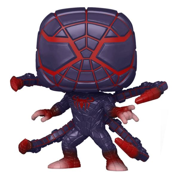 Marvel's Spider-Man POP! Games Vinyl Figure Miles Morales PM Suit 9 cm - fk54694