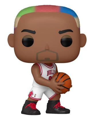 NBA Legends POP! Sports Vinyl Figure Dennis Rodman (Bulls Home) 9 cm - fk55216