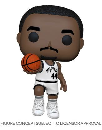 NBA Legends POP! Sports Vinyl Figure George Gervin (Spurs Home) 9 cm - fk55218