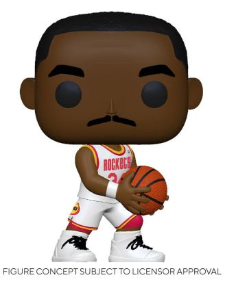 NBA Legends POP! Sports Vinyl Figure Hakeem Olajuwon (Rockets Home) 9 cm - fk55219