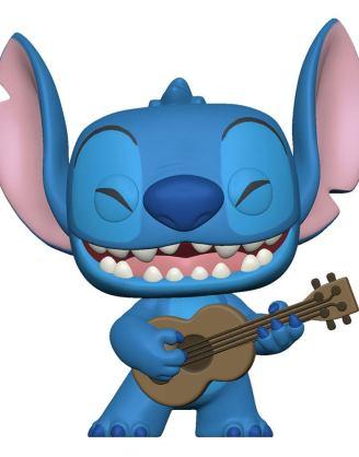 Lilo & Stitch POP! Disney Vinyl Figure Stitch w/Ukelele 9 cm_fk55615