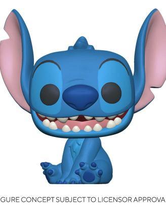 Lilo & Stitch POP! Disney Vinyl Figure Smiling Seated Stitch 9 cm-fk55617
