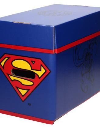 DC Comics Storage Box Superman 40 x 21 x 30 cm képregény tároló doboz