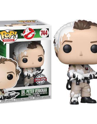 Ghostbusters Funko POP! Vinyl Figura - Dr. Peter Venkman Marshmallow Exclusive 9 cm