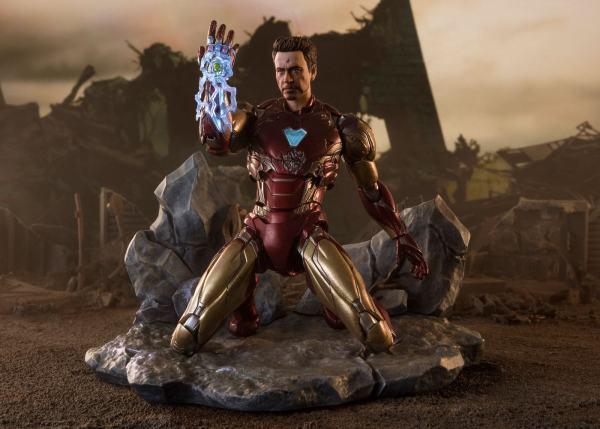 x_btn60497-2 Avengers: Endgame S.H. Figuarts Akciófigura - Iron Man Mk-85 (I Am Iron Man Edition) 16 cm