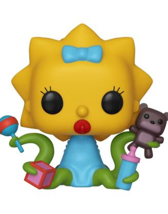 x_fk39727 Simpsons Funko POP! TV Vinyl Figura - Alien Maggie 9 cm