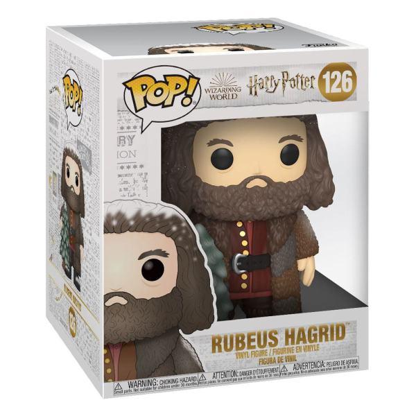 x_fk51156 Harry Potter Super Sized Funko POP! Vinyl Figura - Holiday Rubeus Hagrid 15 cm