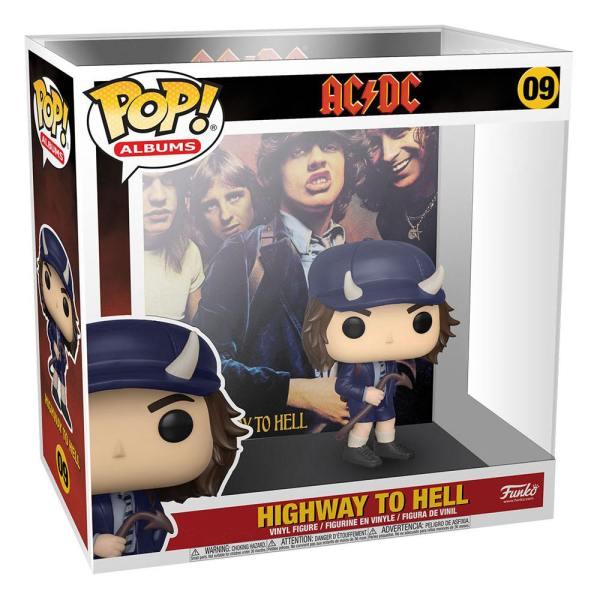 AC/DC POP! Albums Vinyl Figure Highway to Hell 9 cm_fk53080