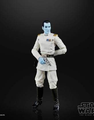 Star Wars Black Series Archive Akciófigura - 2021 50th Anniversary Wave 1 - Grand Admiral Thrawn (Rebels)