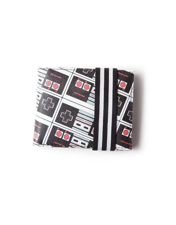 Nintendo Wallet / pénztárca NES Controller AOP