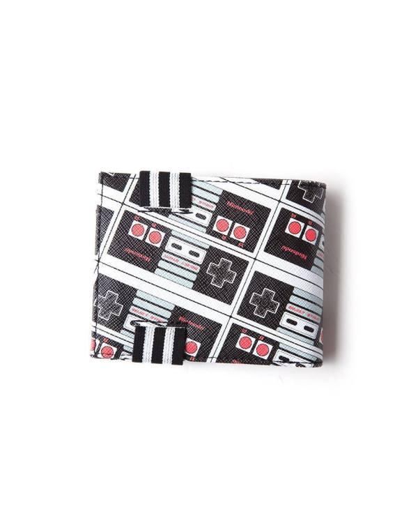 x_mw481632ntn Nintendo Wallet / pénztárca NES Controller AOP