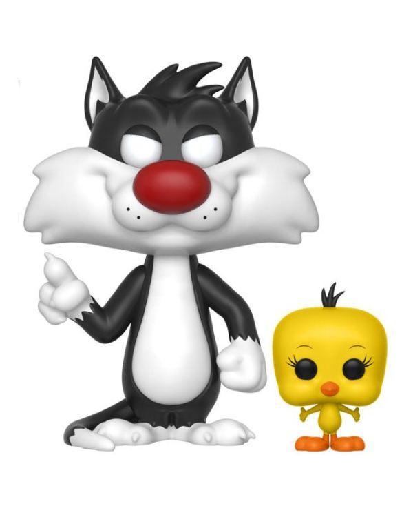 Looney Tunes Funko POP! Figura - Sylvester & Tweety 9 cm