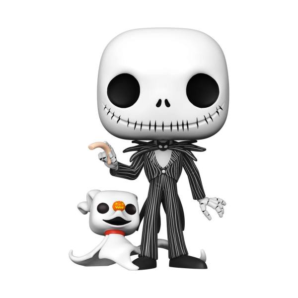 x_fk49006_a Nightmare before Christmas Super Sized Funko POP! Disney Vinyl Figura - Jack w/Zero 25 cm