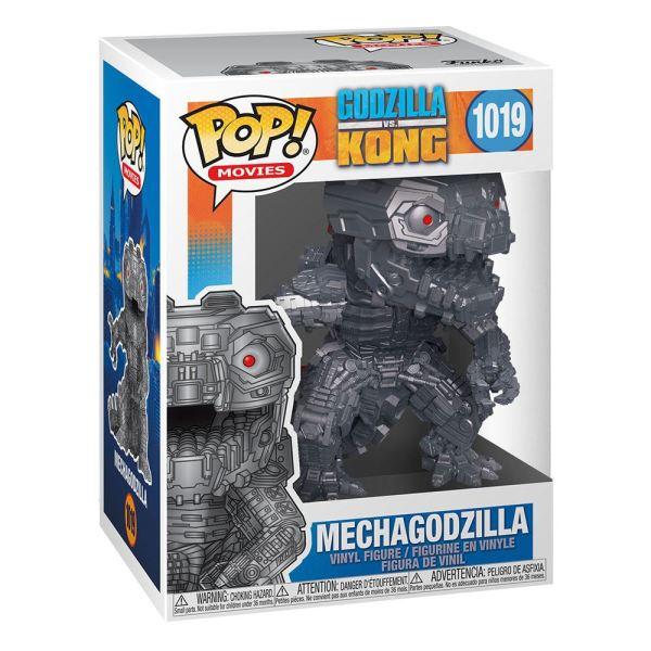 Godzilla Vs Kong POP! Movies Vinyl Figure Mechagodzilla (Metallic) 9 cm_fk51287