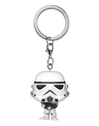 x_fk53052 Star Wars Funko Pocket POP! Vinyl Keychains / kulcstartó - Stormtrooper 4 cm