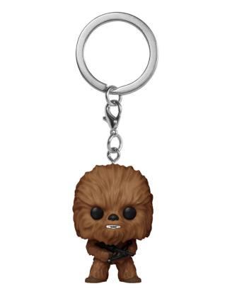 x_fk53054 Star Wars Funko Pocket POP! Vinyl Keychains / kulcstartó - Chewbacca 4 cm