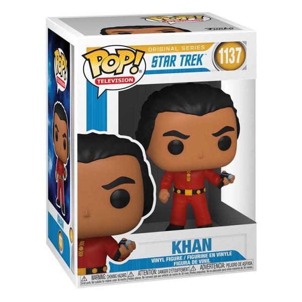 Star Trek: The Original Series POP! TV Vinyl Figure Khan 9 cm_fk55805