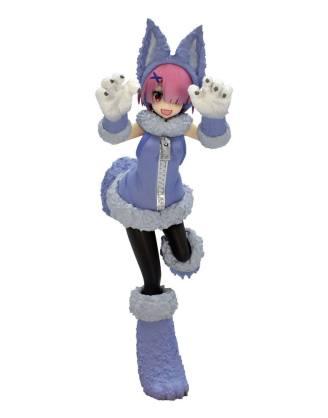 Re:ZERO SSS PVC Statue Ram The Wolf and the Seven Kids 21 cm_fryu95435
