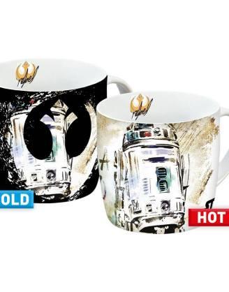 Star Wars hőre változós bögre / Heat Change Mugs - R2-D2