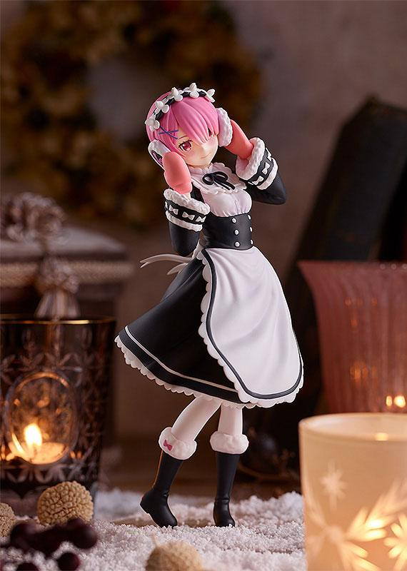Re: Zero Starting Life in Another World PVC Statue Pop Up Parade Ram: Ice Season Ver. 17 cm_gsc94289