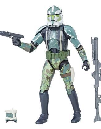 Star Wars Episode III Black Series Akciófugra - Clone Commander Gree 2017 Exclusive 15 cm