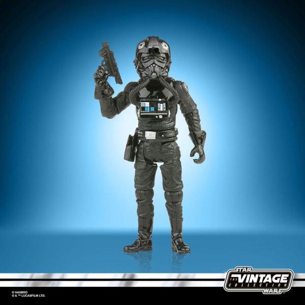 Star Wars Vintage Collection 2021 Wave 2 Akciófigura - TIE Fighter Pilot (Episode VI) 10 cm
