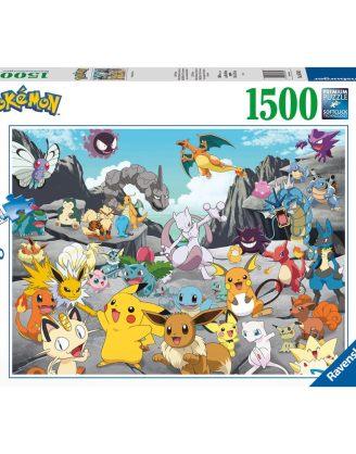 x_rave16784 Pokémon Jigsaw Puzzle - Pokémon Classics (1500 pieces)