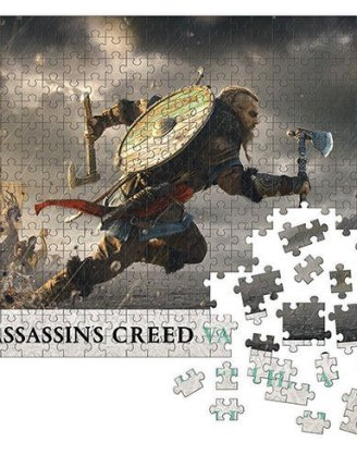Assassin's Creed Valhalla Jigsaw Puzzle - Fortress Assault (1000 pieces)