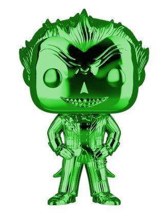 DC Funko POP! Figura - The Joker Green Chrome (Exclusive)