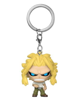 My Hero Academia Pocket POP! Kulcstartó - All Might Weakened State 4 cm