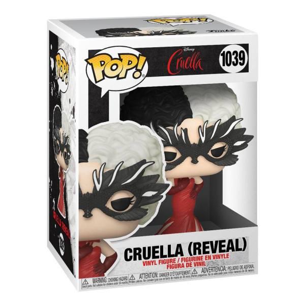Cruella POP! Disney Vinyl Figure Cruella (Reveal) 9 cm_fk54467