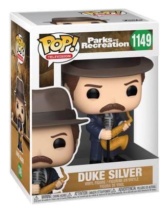 Parks and Recreation POP! TV Vinyl Figure Duke Silver 9 cm_fk56167