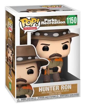 Parks and Recreation POP! TV Vinyl Figures Hunter Ron 9 cm_fk56168